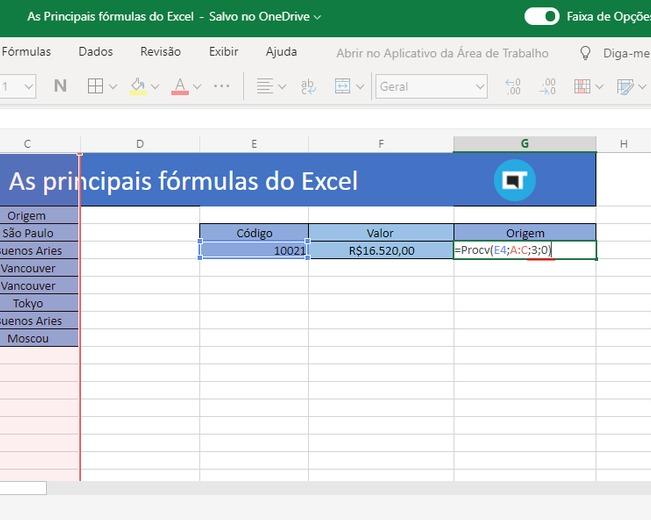 Saiba como utilizar as 3 principais fórmulas do Excel 2