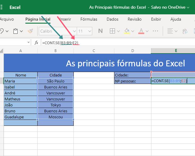 Saiba como utilizar as 3 principais fórmulas do Excel 7