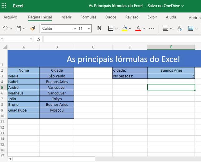 Saiba como utilizar as 3 principais fórmulas do Excel 9
